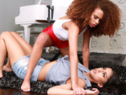Catty Co-Stars Featuring Cecilia Lion and Sophia Leone - Hot and Mean HD