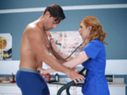 Stress Test Sex Starring Lauren Phillips - Doctor Adventures HD