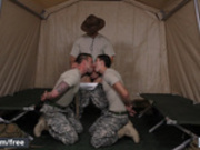 Men.com - Aspen and Damien Kyle and Tanner Tatum - Drill The Sergeant - Drill My Hole