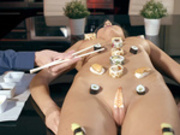 Do Me After Body Sushi Starring Tina Kay - Brazzers HD