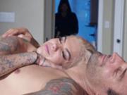 Intruder spies on Bonnie Rotten and Alex Legend after sex