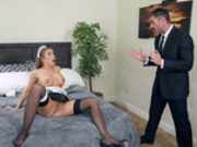 What A Maid Wants Featuring Britney Amber - Brazzers HD