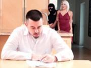 Robber Banged My Girlfriend with Rhonda Rhound - Reality Kings HD