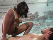 Jenna J Foxx bouncing on Tyler's hard cock