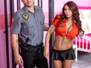 Glam Jail Nail Starring Madison Ivy - Brazzers HD