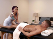 Cumplimentary Massage with Monique Alexander - Reality Kings HD