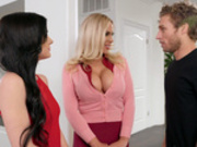 Learning From Stepmom with Olivia Austin and Rosalyn Sphinx - Moms Bang Teens HD