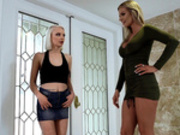 Catfishing Milf Featuring Alice Pink and Rachael Cavalli - Moms Lick Teens HD