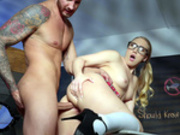 College girl AJ Applegate gets fucked in her ass