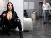 Busting On The Burglar Featuring Angela White - Brazzers HD