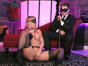 Masquerade Ball-Sucking Starring Rachael Cavalli - Brazzers HD