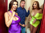 Club Cougar Joins The Party with Alexis Fawx and Skylar Snow - Reality Kings HD