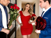 Earning My Valentine Starring AJ Applegate - Brazzers HD