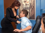 Red Hot Boss From Hell Featuring Syren De Mer - Big Tits At Work HD
