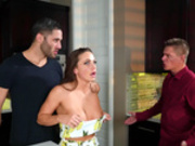 Wife Abigail Mac gets caught cheating with the bounty hunter