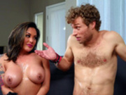 Kaylani Lei is pretty satisfied with Michael Vegas' performance