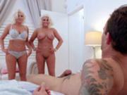 Kristina Shannon and Karissa Shannon threesome with Alex Legend