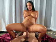 Voluptuous Sofi Ryan cowgirl riding on Scott Nails