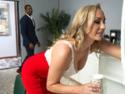 Boned By My Office Boyfriend Starring Brett Rossi - Brazzers HD