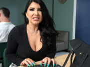 Work Hard, Fuck Harder Starring Romi Rain - Brazzers HD