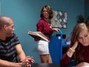 The Lusting Librarian Starring Adriana Chechik - Brazzers Exxtra HD
