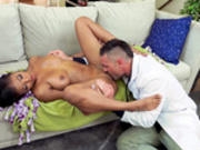 Nia Nacci getting her pussy licked by Dr. Charles Dera