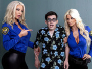 Fucking His Way Into the U.S.A with Brittany Andrews and Nicolette Shea - Brazzers Exxtra HD