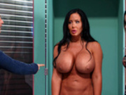 Free For All Fuck Featuring Sybil Stallone (Brazzers Exxtra HD)