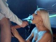 Blanche Bradburry gets blasted with her clients huge cumshots