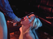 Barbie Sins takes a huge facial cumshots from Danny D