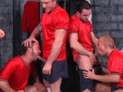Four Is Not A Crowd For These Horny Gay Men - Men.com