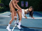 –� Tennis Balls Deep Starring Gina Valentina - Brazzers Exxtra HD