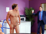 Nicolette Shea gets caught fucking Tyler Nixon at work