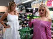 Clean Up On Aisle 69 with Kali Roses and Leah Lee (Reality Kings HD)