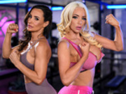 The Fuck Off Starring Lisa Ann and Nicolette Shea - Brazzers Exxtra HD