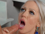 Alura Jenson drains the plumber Tyler Nixon of all his cum