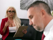 –� Kylie Kingston Starring in The Temp's Crush - Brazzers HD