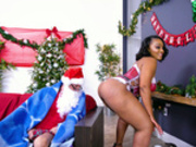 –� Santas Cumming Down Her Chimney - Mimi Curvaceous - Bangbros HD