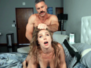 Lena Paul haired pulled while fucking doggy style by Charles Dera