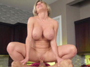 Big boobed milf Dee Williams rides the hard young cock of Ricky Spanish