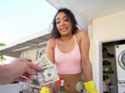 Sarah Lace Cleans Dick Well - Bangbros HD
