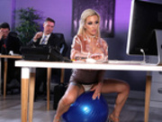It's Ergonomic! Starring Skyler Mckay and Danny D - Brazzers HD