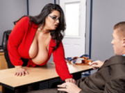 Disciplinary Action with Sofia Rose and Oliver Flynn - Brazzers HD