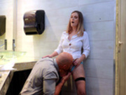 Bathroom Attendant Starring Kara Lee - Reality Kings HD