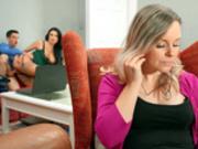 Jordi fucks his girfriends hot milf mom Ania Kinski