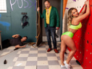 Going Down In A Blaze of Gloryholes Starring Cali Carter - Brazzers HD