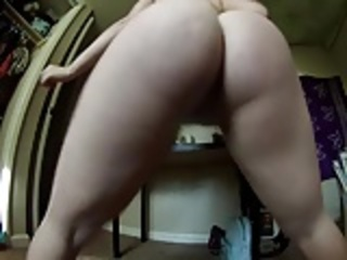 21yr old showing off her fat ass